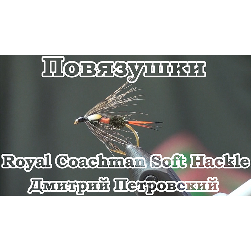 Повязушки. Royal Coachman Soft Hackle